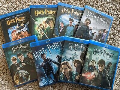 Harry Potter: Complete 8 Film Lot (Blu-Ray) - FREE Shipping