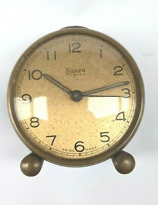 Vintage SWIZA mignon Carriage clock