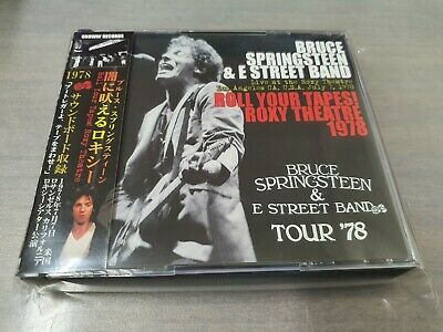 Bruce Springsteen & The E Street Band - Roll Your Tapes! Roxy Theatre 1978 3Cd