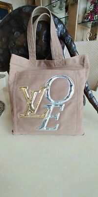 "Authentic Louis Vuitton ""That's Love"" Tote In  Taupe Color"