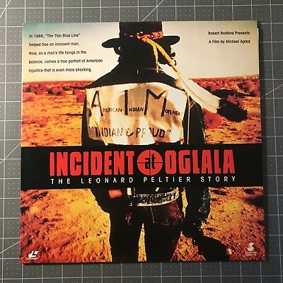 Incident At Oglala Laserdisc - Ld