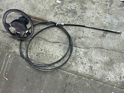 NIB Steering Cable Rack 16ft M86X16 Uflex and Teleflex SSC124 only Outboard