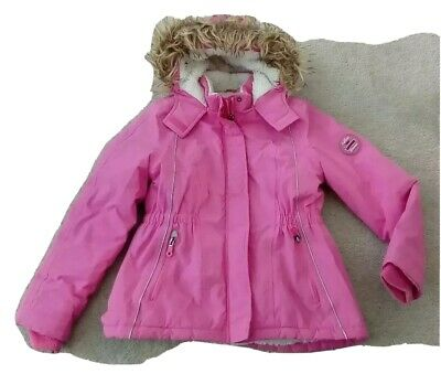 Girls showerproof coat with hood age10 -12 years  from George