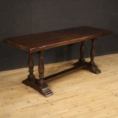 Table Fratino Furniture Italian Wooden Antique Style Living Room Dining Room 900