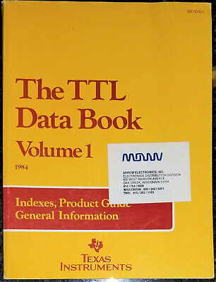 USED 1984 Texas Instruments TTL Data Book Vol 1