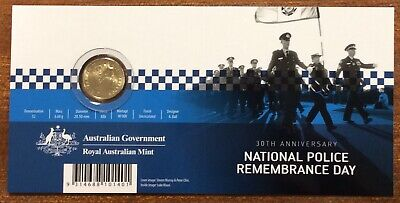 2019 $2 police remembrance C mint mark on card