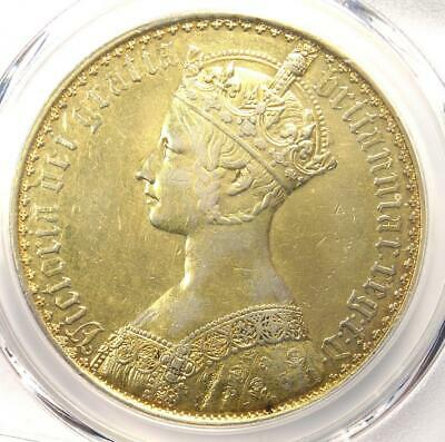1853 Great Britain PROOF Victoria Gothic Crown - PCGS Proof XF Details (Plated)