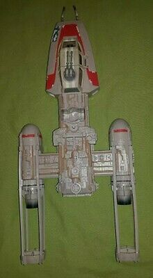 Star Wars Y-Wing Fighter Ship Vehicle 1999 Hasbro