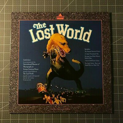 The Lost World Laserdisc - Ld