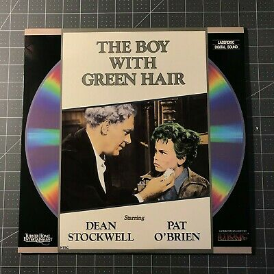 The Boy With Green Hair Laserdisc - Ld