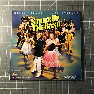 Strike Up The Band Laserdisc - Ld