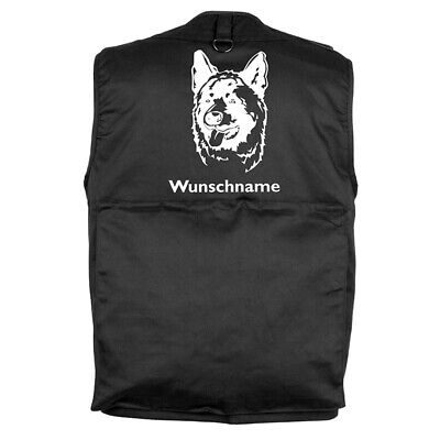 MIL-TEC Hundesport Outdoor Weste Akita 2 inkl. Wunschname