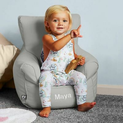 ruComfy Toddler & Childrens Armchair Beanbag - Personalised Embroidered Name