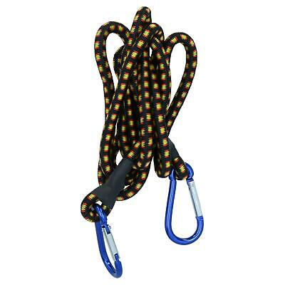 "72"" Bungee Strap with Aluminium Carabiners Hook Tie Down Fastener Holder"