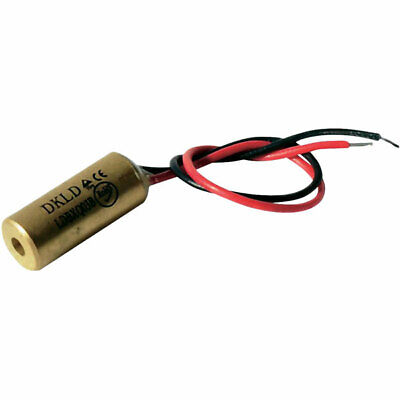 Laserfuchs 70108507 Red Class 1 Laser 10m 0.4mW 3-12VDC 25mA 650nm Wavelength