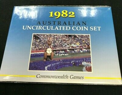 1982 Australian decimal uncirculated coin set  Sherwood
