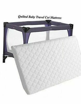 95 x 65 x 5 cm New Extra Thick Travel Cot Mattress For Grace Redkite And M&P. UK