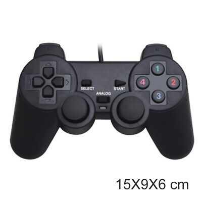 Schock Vibration Joypad Wired Controller Gamepad Für PS2 PlayStation 2 Gaming