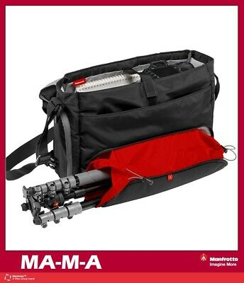 Manfrotto Large Advanced Befree Messenger Bag (Black) Mfr # MB MA-M-A