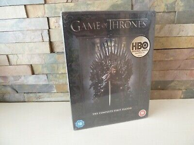 new/sealed GAME OF THRONES - SEASON 1 ONE DVD SET -  FAST/FREE POSTING.