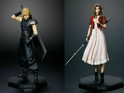 FINAL FANTASY VII 7 REMAKE Kuji Cloud Strife Aerith Figure Set of 2 Square Enix