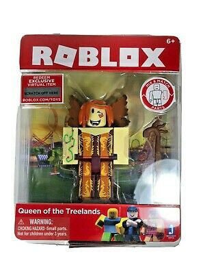 Amazon Com Roblox Queen Of The Treelands Figure Pack Toys Games Roblox Queen Of The Treelands Figure And Exclusive Virtual Item Game Code 7 88 Picclick