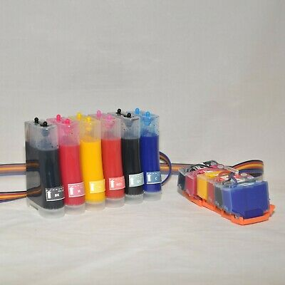 CISS ink system for Epson XP-15000 printer with one time use chip