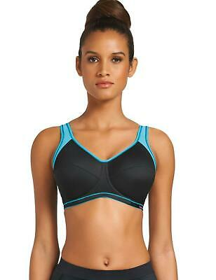 Freya Active Underwired Sports bra 4492 Womens Sports Bras Jet	Black