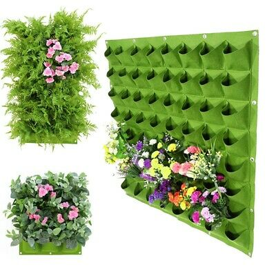 Planting Bag Hanging Wall Vertical Planter Hanging Flower Wall-mounted Plant Pot