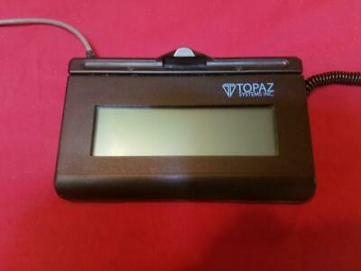 Topaz T-L462-HSB-R USB Signature Pad. NO STYLUS. Lot Quantity available.