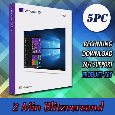 Windows 7/8.1/10 Home▩Professional/Ultimate/Premium▩32&64Bit▩1-5PC▩E-Mailversand