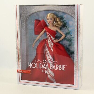 Mattel - Barbie Doll - 2019 Signature Happy Holiday Blonde *NON-MINT BOX*