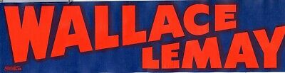 1968 George Wallace Lemay Campaign Political Bumper Sticker Lot Of 100 RY657