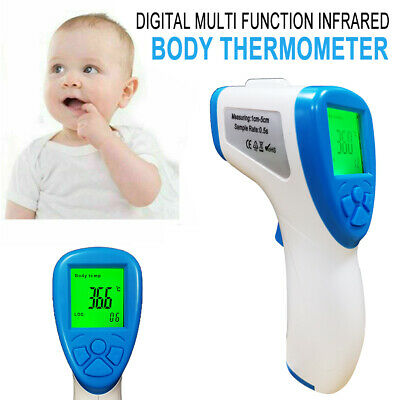 LCD Infrared Thermometer Digital IR Non-contact Forehead Temperature Meter BN