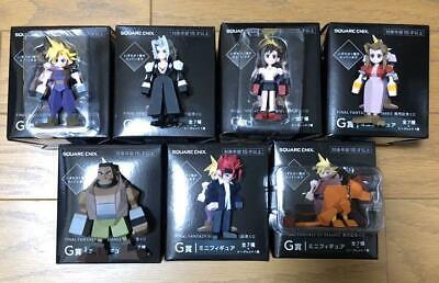 FINAL FANTASY VII REMAKE Mini figure set of 7 Square Enix