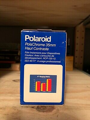 Polaroid High Contrast PolaChrome 35MM Instant Color Slide Film & Process Pack