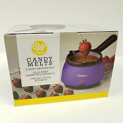 Wilton Deluxe Candy Melts Candy Melting Pot Purple