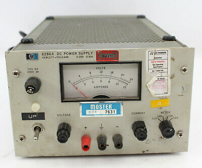 Vintage HP 6286A DC Power Supply