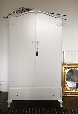 Childs Wardrobe , French Amoire , Antique Wardrobe