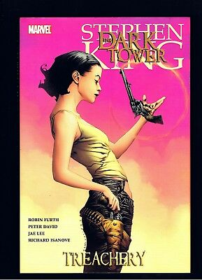 STEPHEN KING ~ THE DARK TOWER SERIES ~ TREACHERY ~ MARVEL 1st Ed ~ MINT COND!