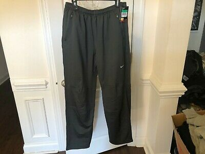 Asics Graphic Brushed Cuffed Mens Track Bottoms Pants Black 127639 0904 A44B