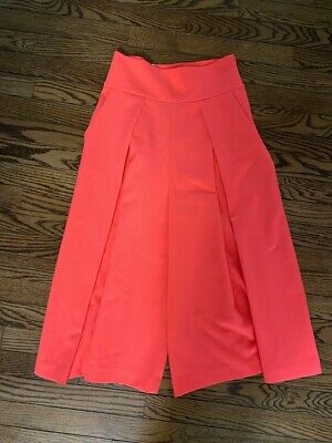 MILLY Bright Pink/Salmon Pants (See Measurements)