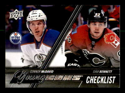 2015-16 UD Upper Deck Hockey YG Young Guns RC Rookie Cards - YOU PICK $1.00 Each