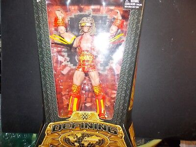 WWE Defining Moment's Ultimate Warrior and Sting Figures