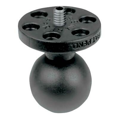 """RAM Mounts 1"""" Ball Connect 1 / 4""""-20 Threaded For Camera / Camcorder Black"""