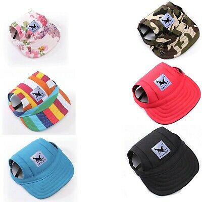 Dog Pet Hat With Ear Holes Baseball Cap for Dogs Outdoor Accessories