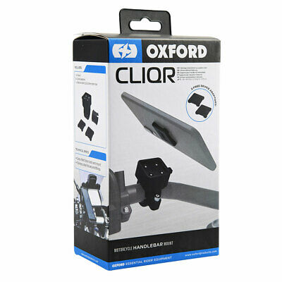 Oxford CLIQR Motorcycle Handlebar Clamp - 22.1 mm