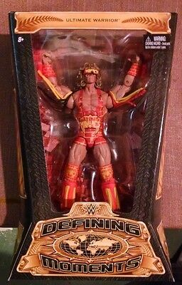 WWE Elite Ultimate Warrior Defining Moments Wrestling Action Figure 2015 NEW WWF
