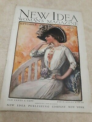 New idea Womans  magazine 1910 September  / Cream of Wheat & Forest Mill's...