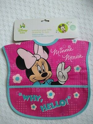 Disney Baby Minnie Mouse Waterproof Bib